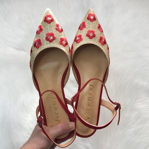 Anthropologie Vicenza Slingback  Flats